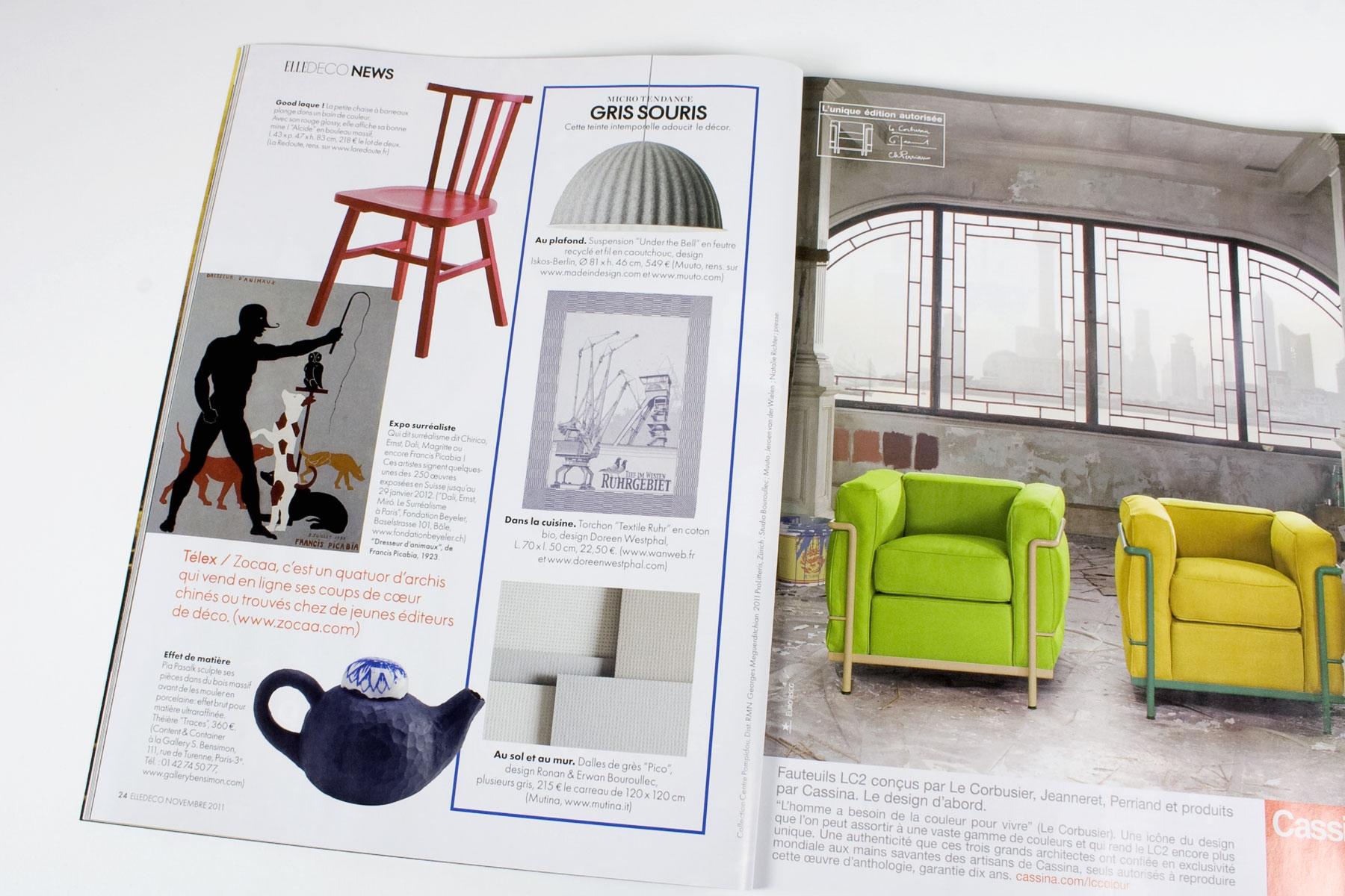 ELLE Decoration - Veröffentlichungen - Content & Container ...