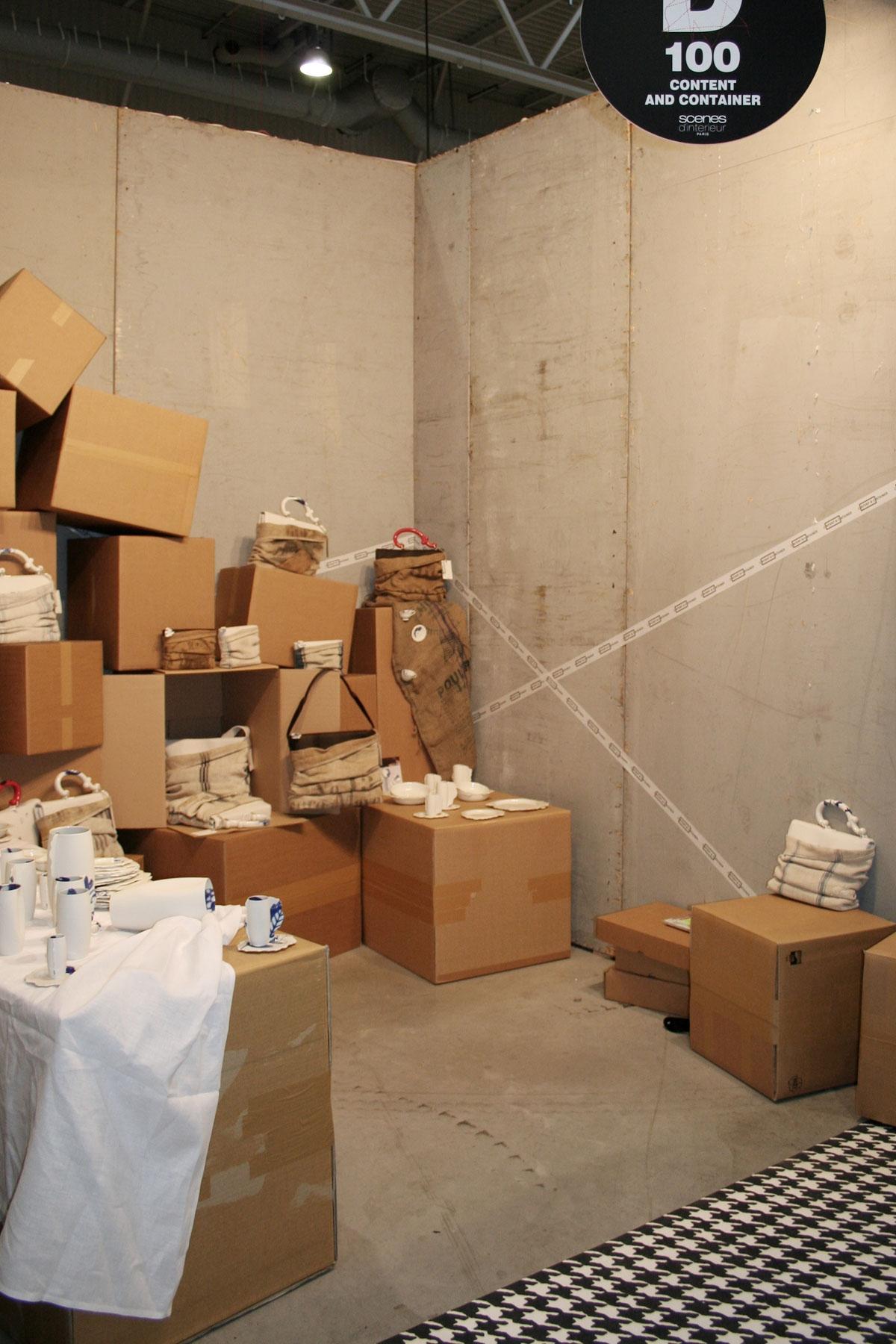 Maison et objet 01 11 exhibitions content container by pia pasalk - Maison container ...