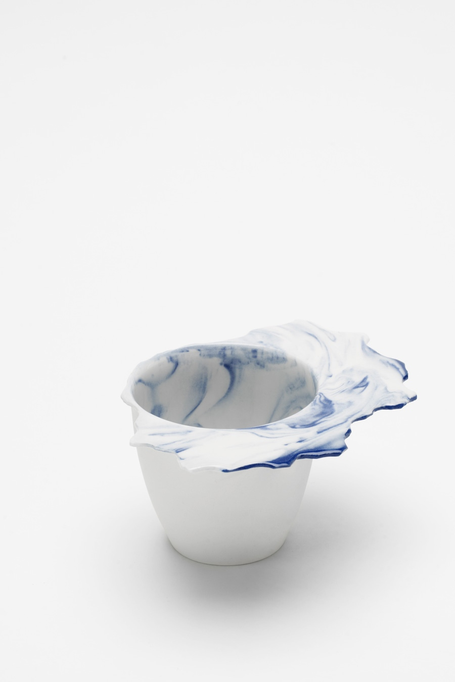 Coffee Cup blue flow C-Set