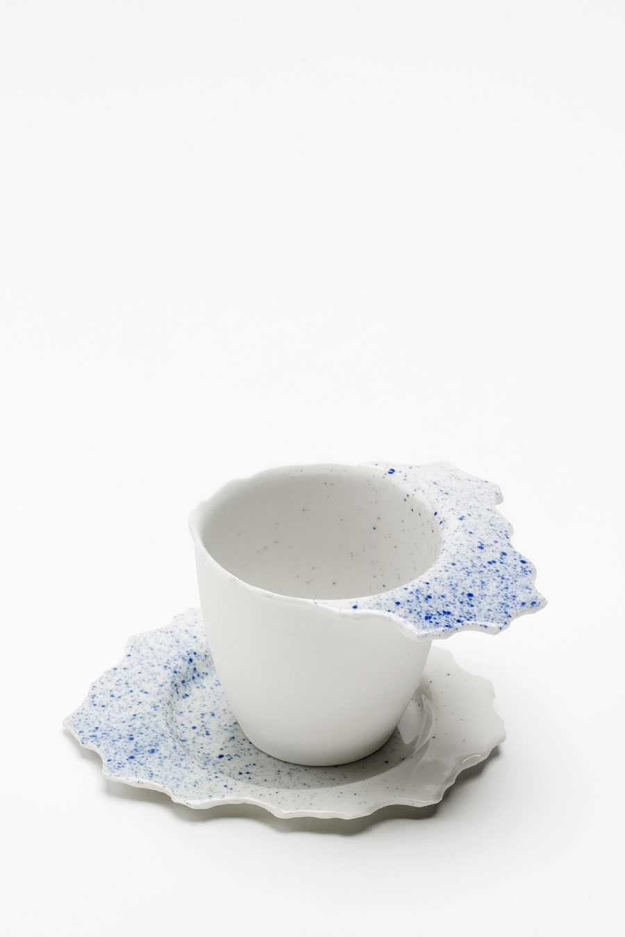 Kaffeetasse mit Untertasse dots C-Set