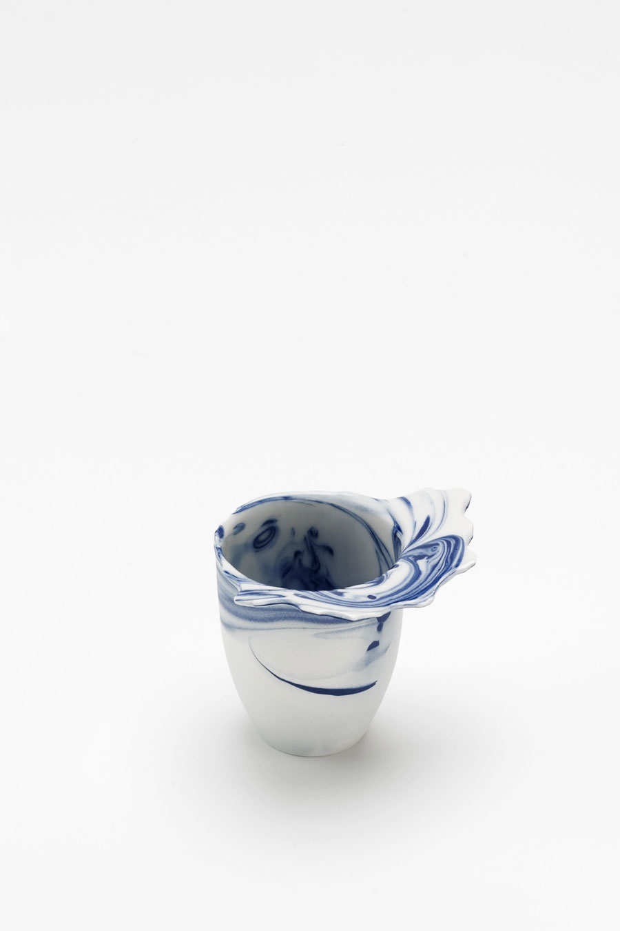 Drinking Vessel blue flow C-Set