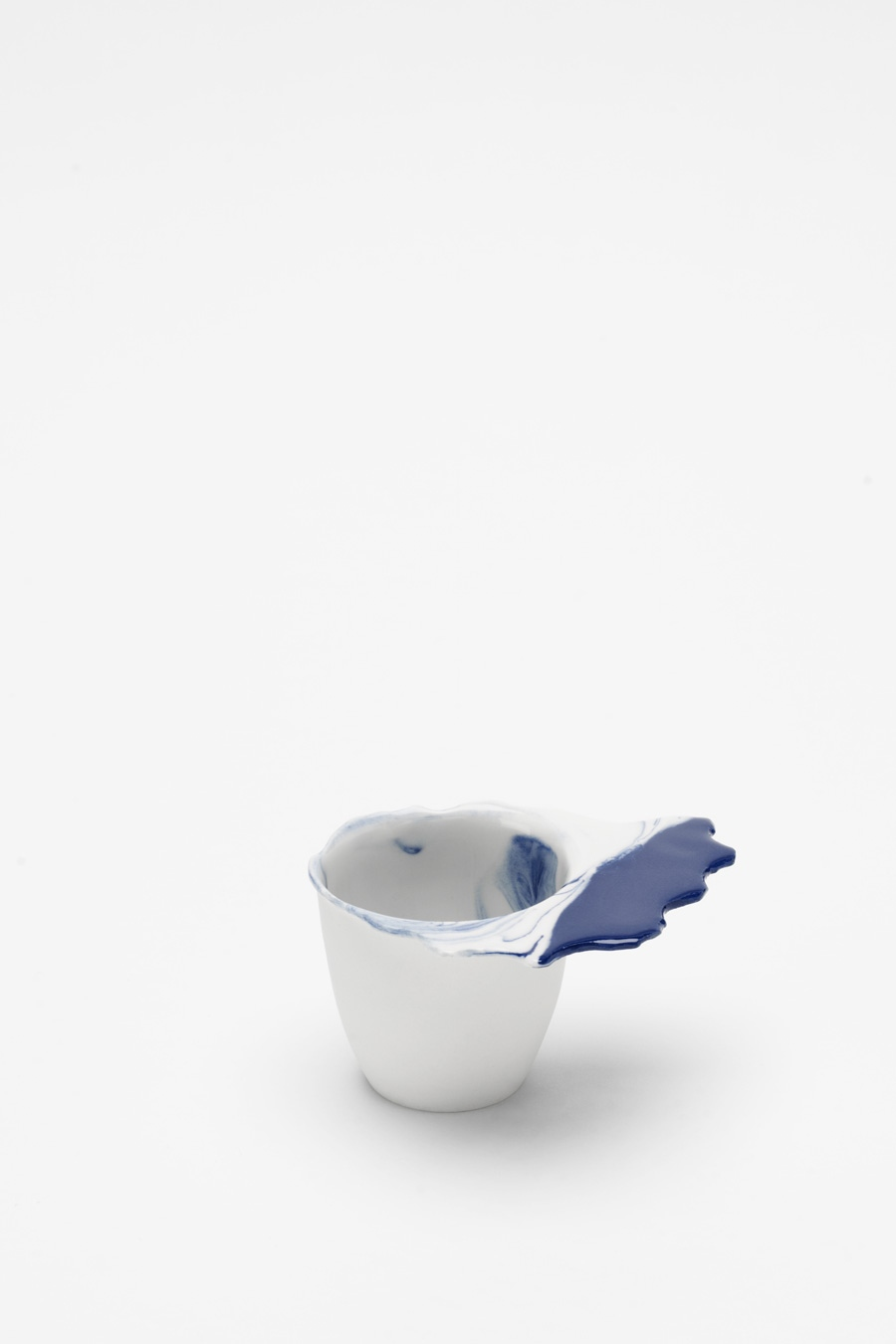 Espresso Cup blue flow C-Set