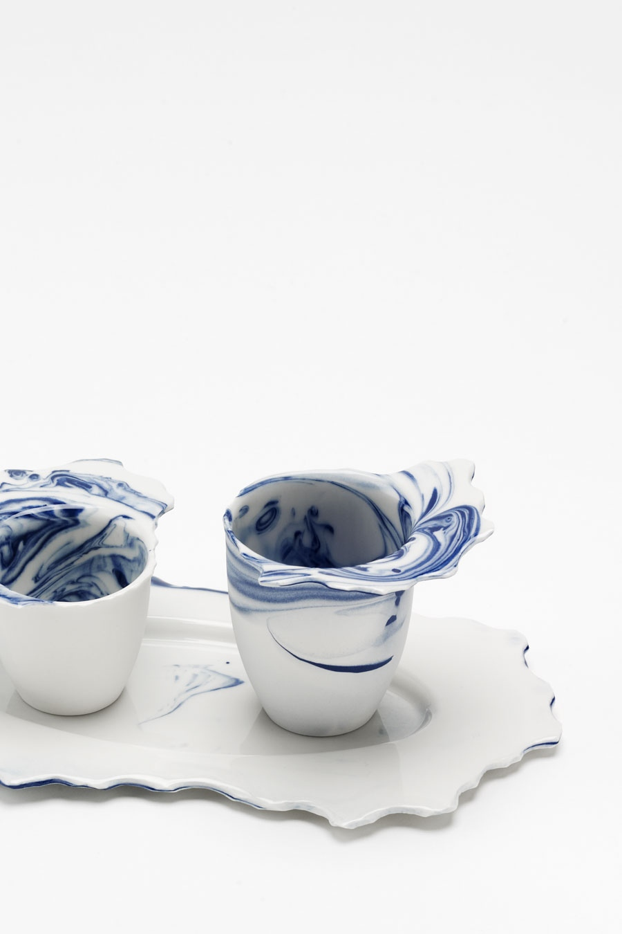 Espresso-Set blue flow C-Set