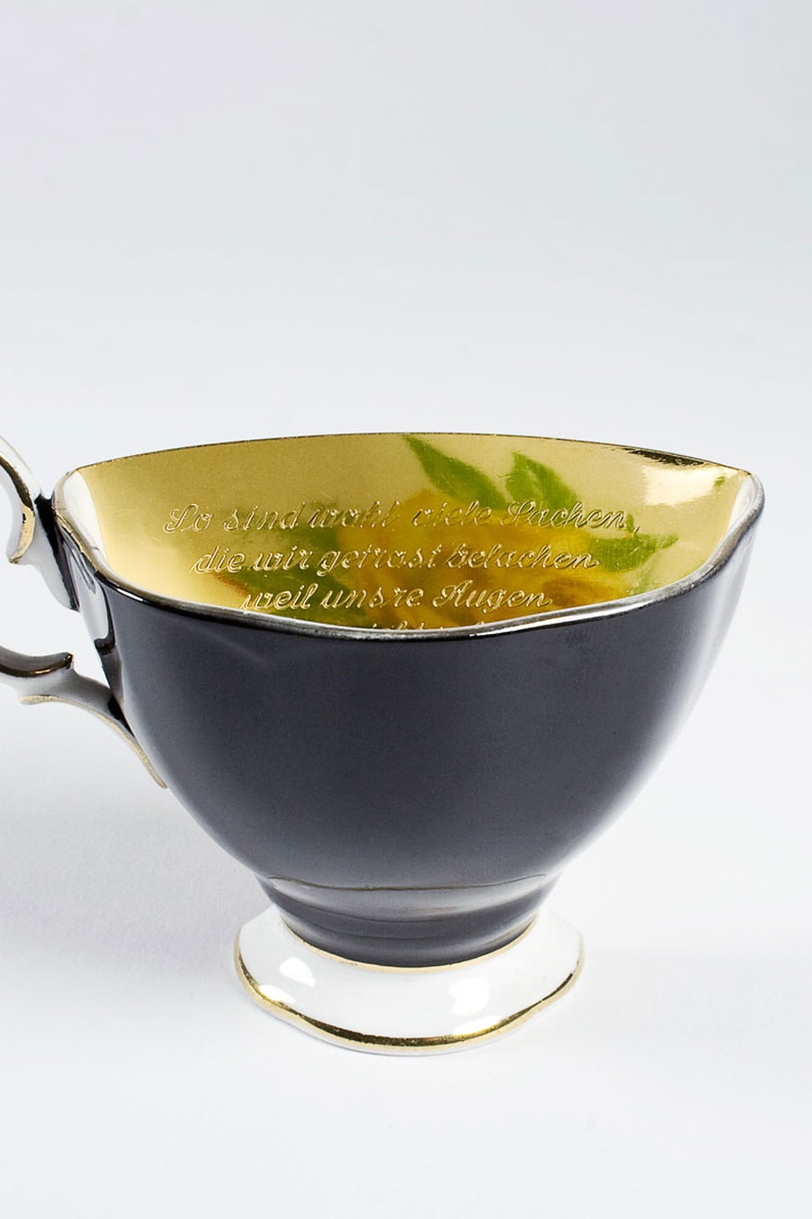 Cup Brooch No.1 Poetry