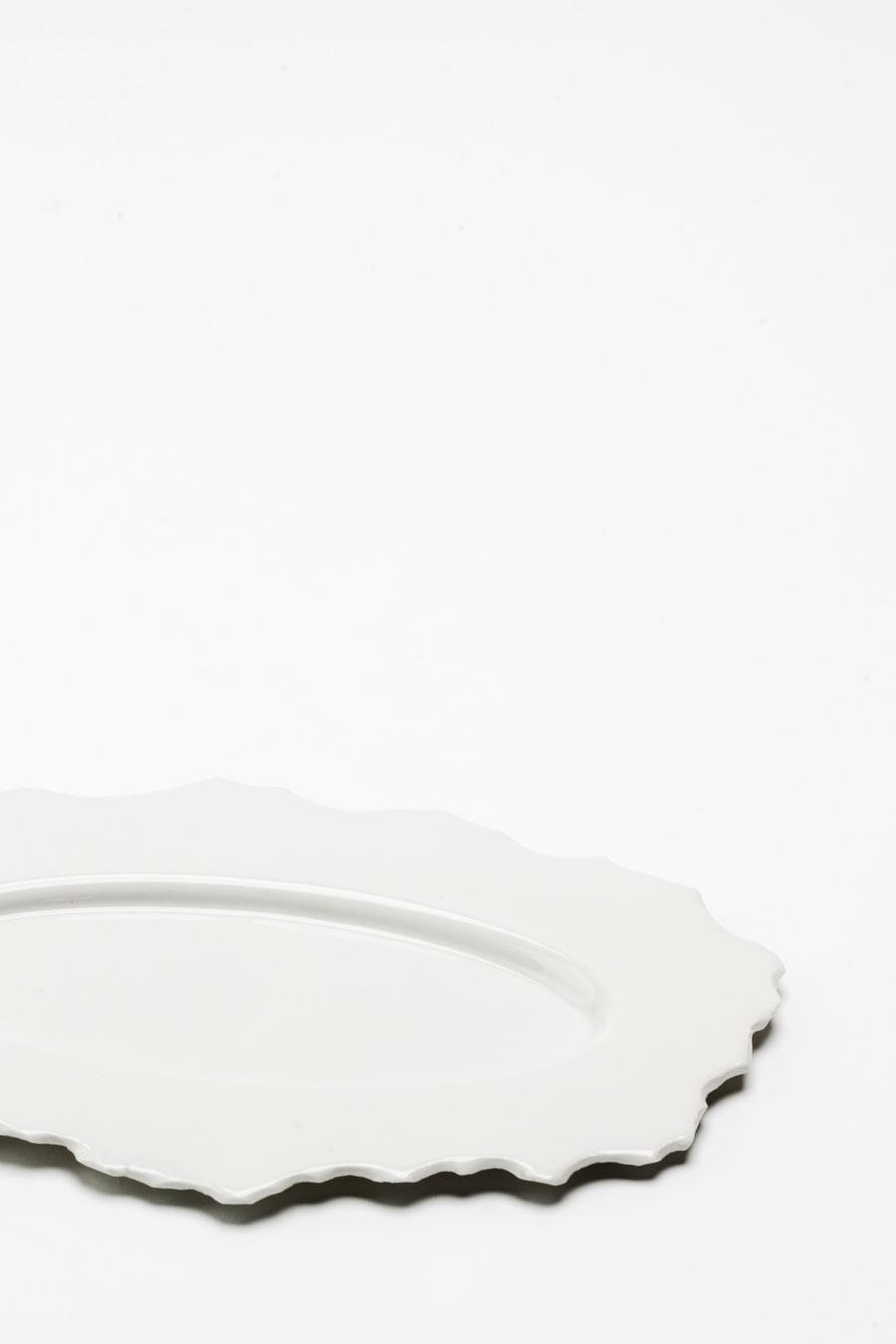 Teller Oval White