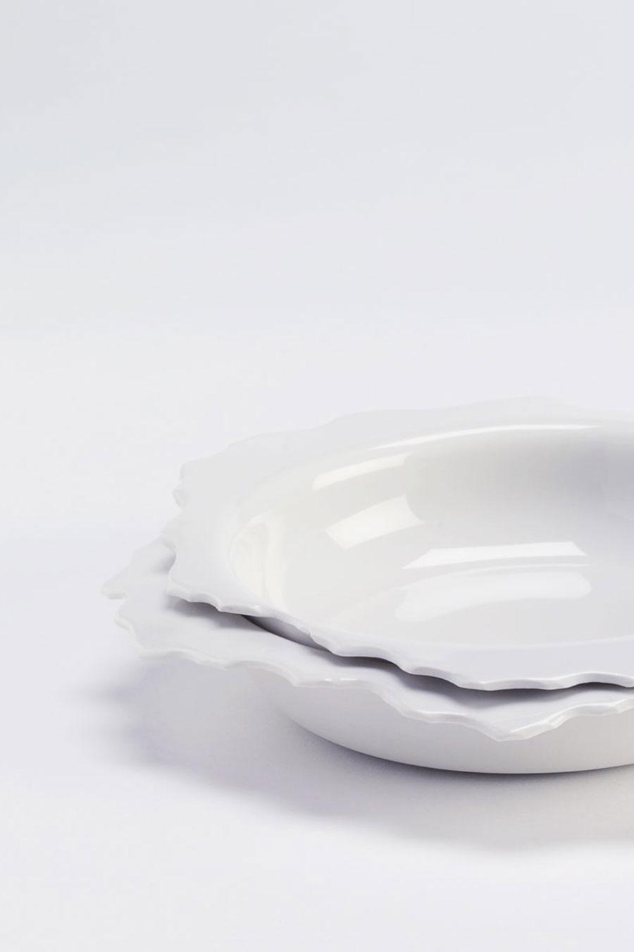 Bowl L White